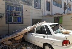 چهار مصدوم در حادثه انفجار منزل مسکونی چهار واحده اهواز+ببینید