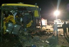 تصادف اتوبوس در زاهدان ۱ کشته و ۲۰ زخمی برجا گذاشت
