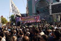 آغاز مراسم تشییع شهدای حادثه تروریستی اهواز