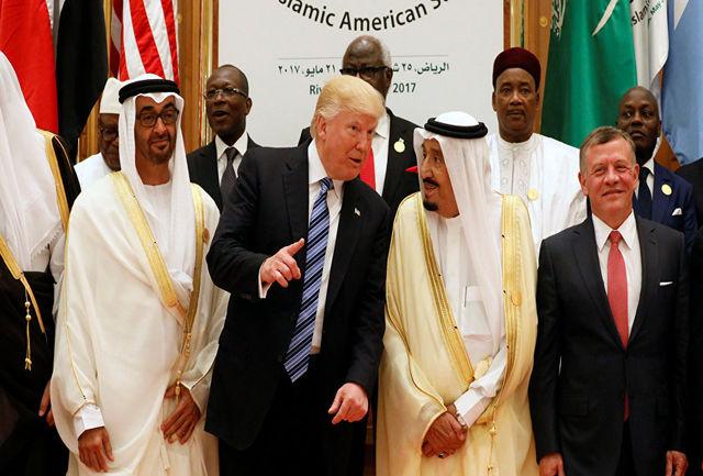 تب ترامپ به حکام عرب هم رسید!