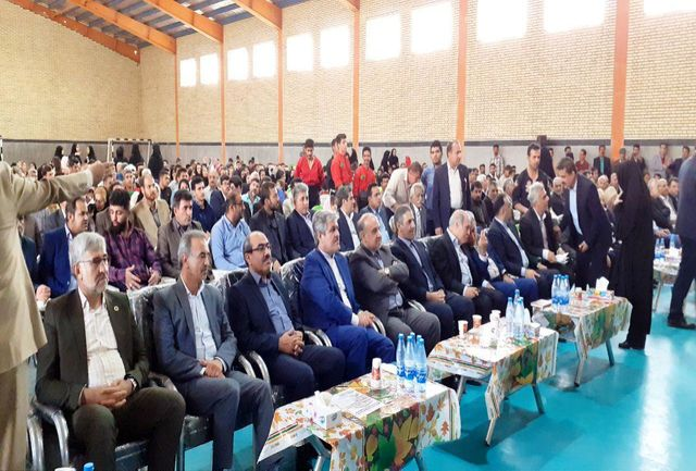 سالن ورزشی روستای سرابیز افتتاح شد