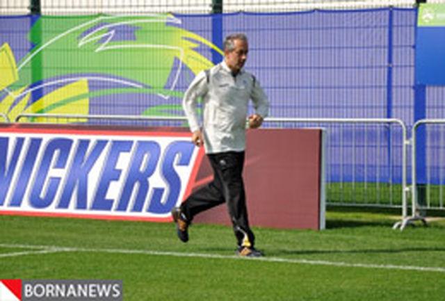 کفاشیان اردوی تیم ملی را ترک کرد