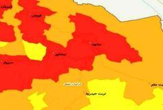 مناطق قرمز کرونایی استان به ۳ شهرستان کاهش یافت