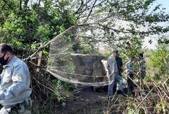 تخریب 17 کومه غیرمجاز صیادی در پارک ملی بوجاق گیلان