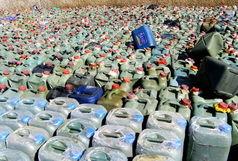 کشف 25 هزار لیتر سوخت قاچاق طی یک عملیات پلیسی در جاسک