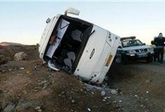 دو اتوبوس  مسافربری در 2 نقطه کشور واژگون شدند/ ماموران امدادی در حال انتقال کشته شدگان و مصدومان
