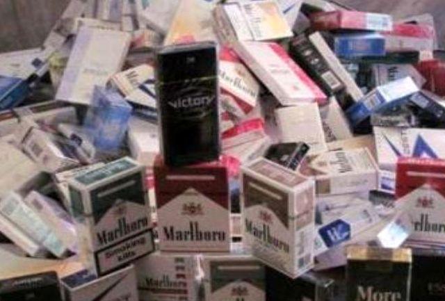 کشف 40 هزار نخ سیگار قاچاق