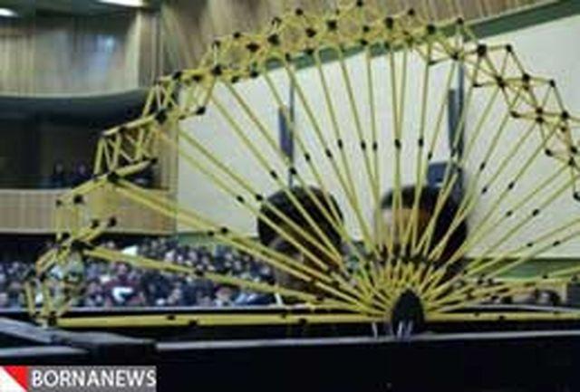 بلندترین و سبکترین سازه ماکارونی جهان در قزوین