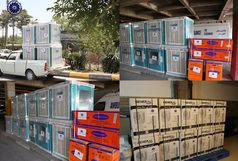 با کمک فعالان اقتصادی 51 دستگاه سرمایشی به بیمارستان افضلی پور اهدا شد