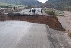 بارش های سیل آسا در لرستان /از مرگ یک زن تا مسدود شدن محور  جنوب