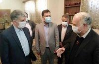 تقدیر وزیر فرهنگ و ارشاد اسلامی از محمود حرازی خوشنویس برجسته یزدی