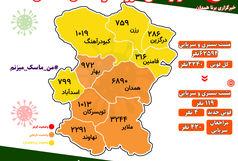 آخرین و جدیدترین آمار کرونایی استان همدان تا 31 خرداد 1400