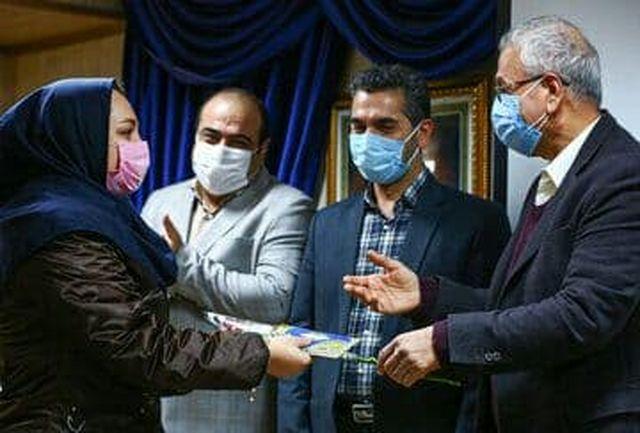 تجلیل سخنگوی دولت از پرستاران بیمارستان شهدای تجریش