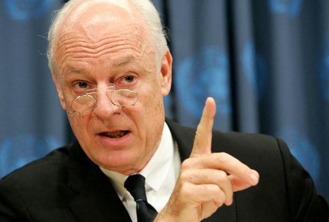 نماینده سازمان ملل در امور سوریه خبر داد؛ نشست ژنو بدون نتیجه به پایان رسید