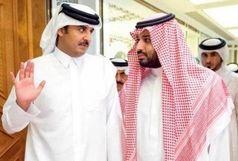 امیر قطر با بن سلمان دیدار میکند؟