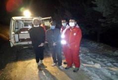 نجات ۲ فرد مفقودی در پارک جنگلی سوهانک
