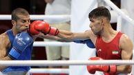 بوکسور المپیکی سیستان و بلوچستان قهرمان آفریقا را در المپیک توکیو به زانو درآورد