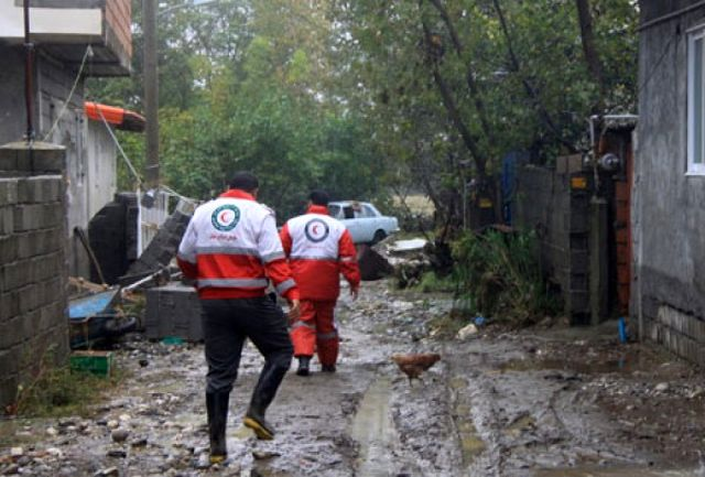 امدادرسانی به ۸۰ حادثه دیده در سیل گلستان