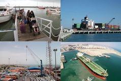 ترابری مسافران دریایی در هرمزگان به مرز هفت میلیون نفر رسید