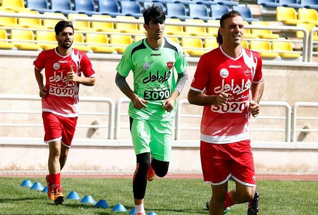 حسینی: مصدومیتم جدی نبود/ باید در سه جام بجنگیم