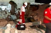 انفجار گاز در منطقه قلعه چنعان شهرستان کارون/۷ تیم امدادونجات هلالاحمر اعزام شدند