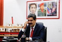 مادورو با رئیسی گفتگو کرد