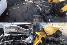 تصادف مرگبار در محور دهلران ۵ کشته و زخمی برجای گذاشت