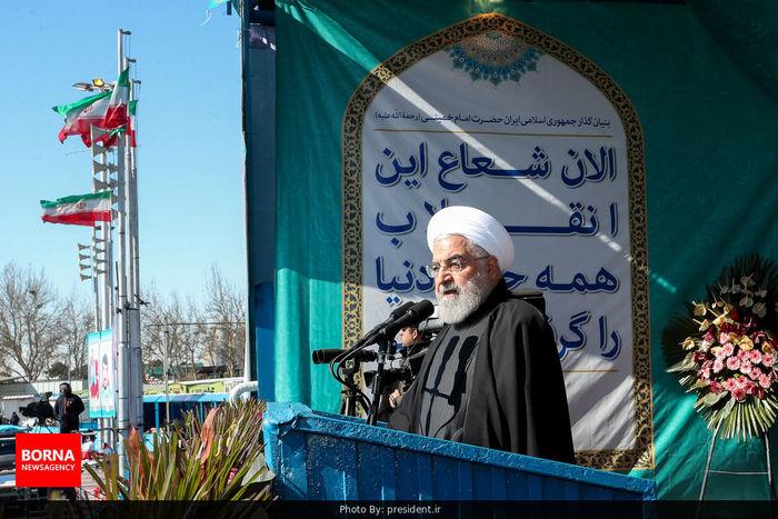 دعوای ما با آمریکا دعوای انتخاب است/ خوشحال کردن 82 میلیون ایرانی یعنی انجام کار انقلابی