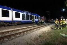گیر کردن خودرو روی ریل موجب توقف قطار قزوین-رشت شد
