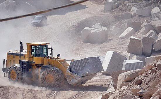 توقف بهرهبرداری از معدن سنگ مرمریت استان بوشهر