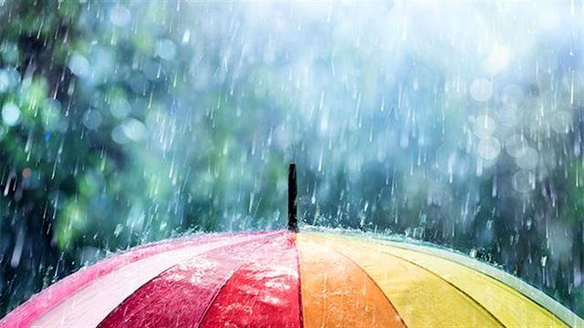 احتمال بارش باران و رعد و برق در تهران