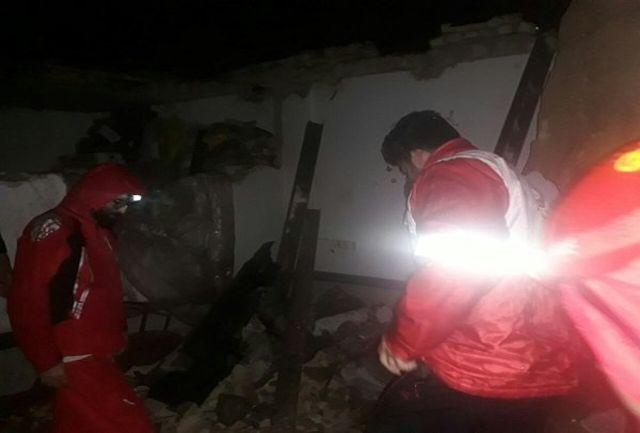 مصدومیت 2 تن به علت رانش زمین در کرمانشاه