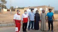 تلاش هلال احمر برای کمک به اهالی روستاهای درگیر تنش آبی در خوزستان