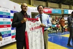 آرزوی موفقیت سفیر چین در ایران برای تیم ملی بسکتبال کشورمان