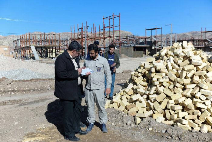 مشارکت کارکنان شرکت ملی گاز در ساخت ۱۵ واحد مسکونی برای سیلزدگان