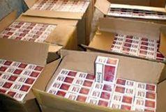 کشف و ضبط بیش از سیصد هزار نخ سیگار قاچاق در خدابنده