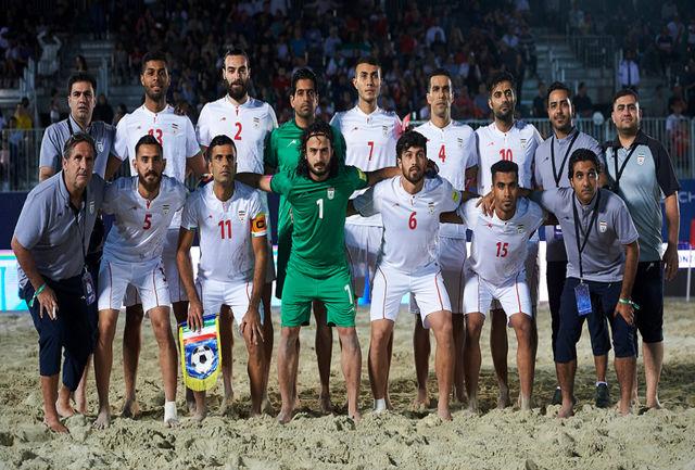 تیم ملی فوتبال ساحلی کشورمان وارد ایران شد