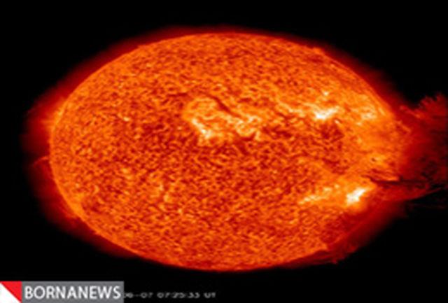 خورشید منفجر شد + فیلم