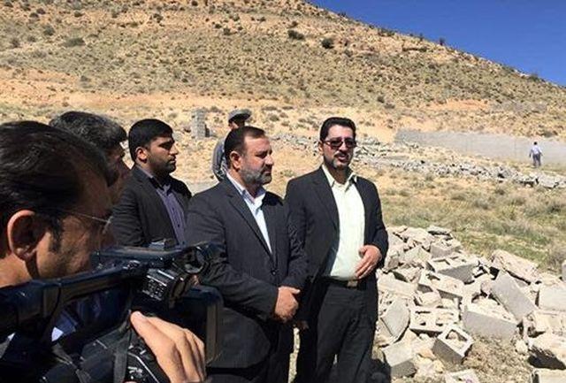 رفع تصرف بیش از 100 هکتار از اراضی تصرف شده در اطراف شیراز
