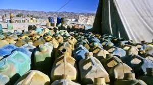 کشف ۲۰ هزار لیتر سوخت قاچاق دپو شده از یک مرغداری در فارس