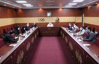 برگزاری نشست کمیسیون توریسم ورزشی کمیته ملی المپیک