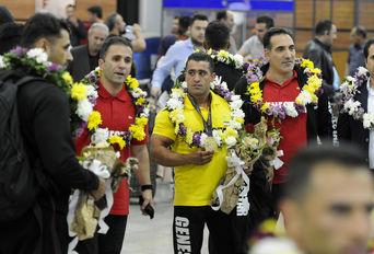 بازگشت تیم ملی پرورش اندام از مسابقات جهانی