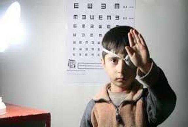ادامه طرح غربالگری بینایی کودکان تا ۱۵ بهمن