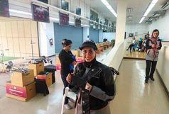 فاطمه کرمزاده در تفنگ سه وضعیت بانوان المپیکی شد