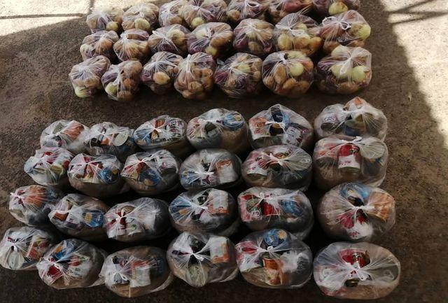 توزیع ۱۰۰ بسته معیشتی بین مددجویان بهزیستی راور