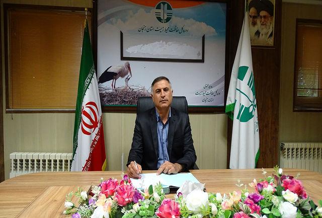 حسین آب سالان به عنوان مدیر کل حفاظت محیط زیست استان زنجان منصوب شد