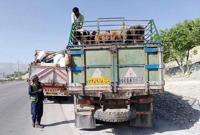 منابع طبیعی کهگیلویه وبویراحمد مانع ورود ۴۵۰ کامیون به مناطق ییلاقی شد