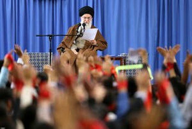 مشروح دیدار دانش آموزان و دانشجویان با رهبر معظم انقلاب