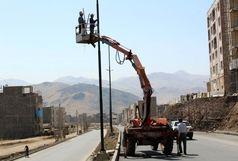 بلوار 36 متری دگایران سنندج تکمیل شد