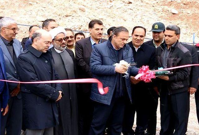 افتتاح خط انتقال و مخزن آب شرب سالم، بهداشتی و پایدار شهر زنگی آباد